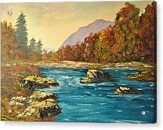 Autumn Creek Acrylic Print