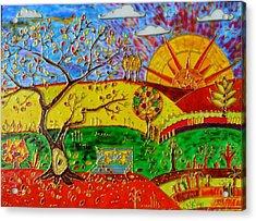 Autumn  Acrylic Print by Danuta Duminica