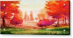 Autumn Delight Acrylic Print
