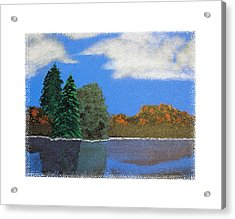Autumn Dusk- A Tribute To Ross Acrylic Print by Robert Boyette