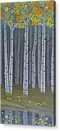 Autumn Embers II Acrylic Print