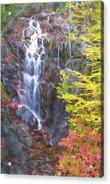 Autumn Falls Away II Acrylic Print