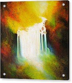 Autumn Falls Acrylic Print by Jaison Cianelli