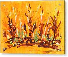 Autumn Garden Acrylic Print