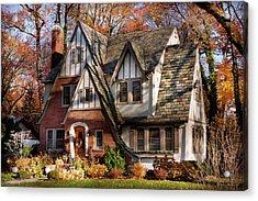 Autumn - Gnome Home Acrylic Print