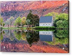 Autumn, Gougane Barra Acrylic Print by Mike Brown