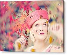 Autumn Grace II Acrylic Print by Chris Armytage