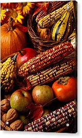 Autumn Harvest  Acrylic Print by Garry Gay