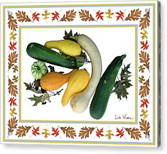 Autumn Harvest Acrylic Print by Lise Winne