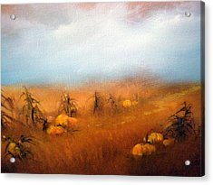 Autumn Harvest Acrylic Print by Sally Seago