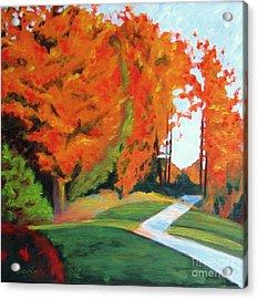 Autumn Hill Acrylic Print