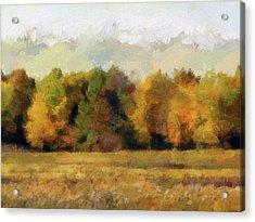 Autumn Impression 4 Acrylic Print