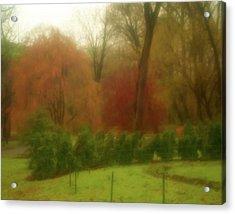 Autumn In Brandywine Park Acrylic Print