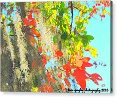 Autumn In Dixie  Acrylic Print