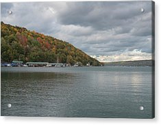 Autumn In Hammondsport Acrylic Print by Joshua House