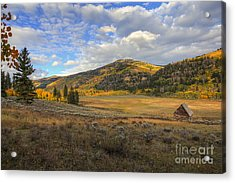 Autumn In Joe's Valley Acrylic Print