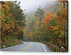 Autumn In Keene Valley Acrylic Print