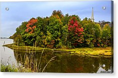 Autumn In Mabou Acrylic Print