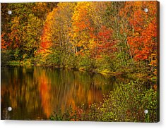 Autumn In Monroe Acrylic Print