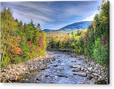 Autumn In New Hampshire Acrylic Print