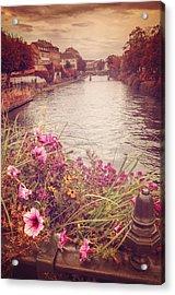 Autumn In Strasbourg  Acrylic Print