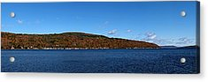 Autumn In The Finger Lakes Acrylic Print by Joshua House
