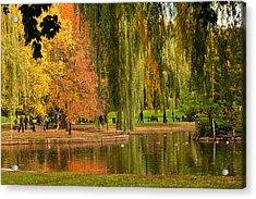 Autumn In The Garden Acrylic Print