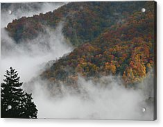 Autumn In The Mountains Acrylic Print by James Jones