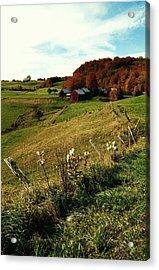 Autumn In Vermont  Acrylic Print