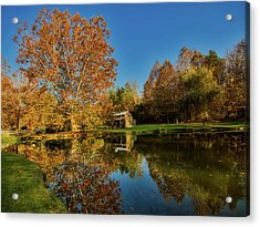 Autumn In West Virginia Acrylic Print by L O C