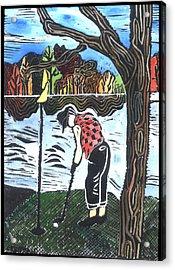 Autumn  Acrylic Print by Jane Croteau