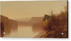 Autumn Lake Scene Acrylic Print by Jervis McEntee