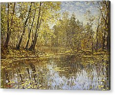 Autumn Landscape Acrylic Print by Andrey Soldatenko