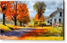 Autumn Landscape Acrylic Print