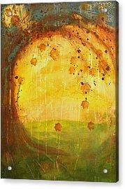 Autumn Leaves - Tree Series Acrylic Print