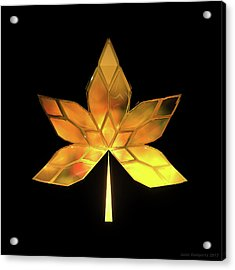Autumn Leaves - Frame 200 Acrylic Print