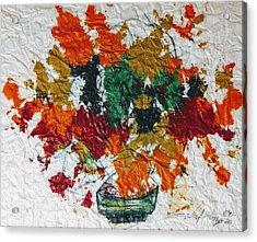 Autumn Leaves Plant Acrylic Print