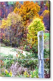 Autumn Acrylic Print by Linda Henriksen