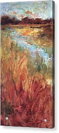 Autumn Marsh Acrylic Print