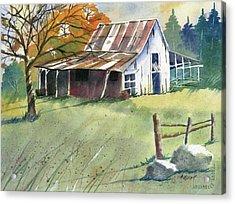 Autumn Acrylic Print by Marsha Elliott