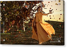 Autumn Acrylic Print by Methune Hively
