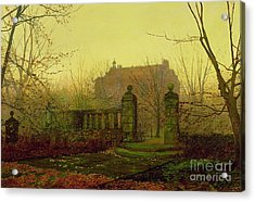 Autumn Morning Acrylic Print