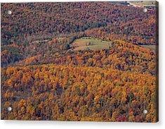 Autumn Mountain Side Acrylic Print