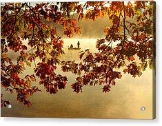 Autumn Nostalgia Acrylic Print by Rob Blair