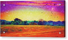 Autumn On Earth Two Acrylic Print