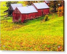 Autumn On Jenne Farm Acrylic Print