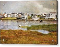 Autumn On The Basin Acrylic Print
