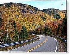 Autumn On The Cabot Trail, Cape Breton, Canada Acrylic Print