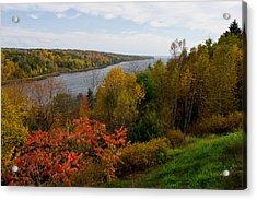 Autumn On The Penobscot Acrylic Print