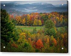 Autumn On Winslow Hill Acrylic Print